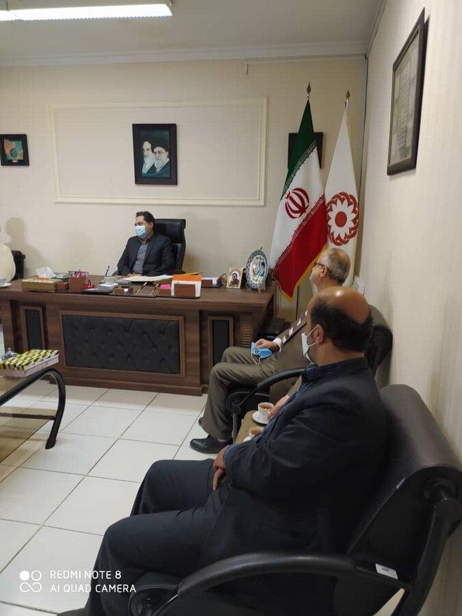 دیدار مدیرعامل آسایشگاه سالمندان و معلولین رشت با دکتر حسین نحوی نژاد
