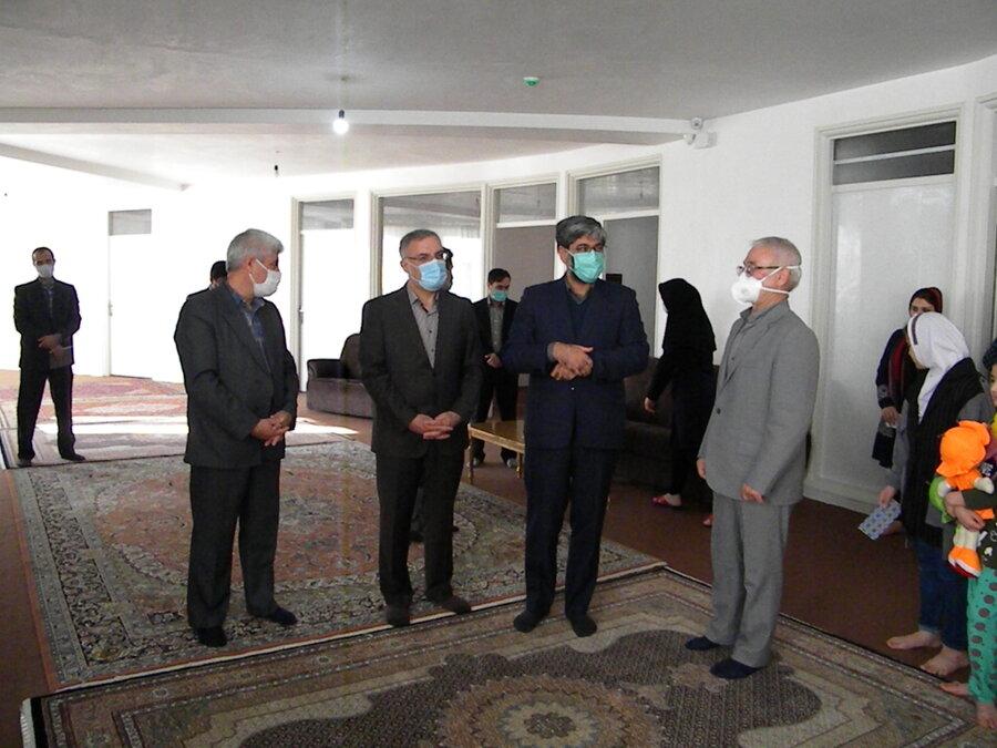 گزارش تصویری ا دیدار نوروزی از خانه شکوفه ها استان اردبیل