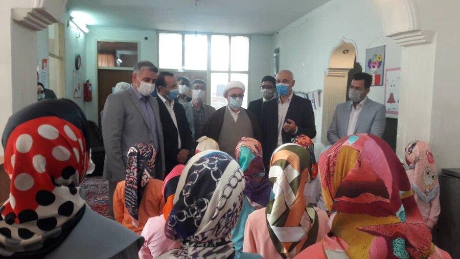حضور مدیران شهرستان شاهرود در مراکز بهزیستی