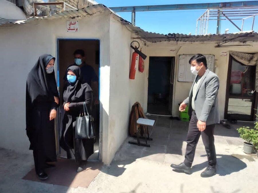 بازدید نوروزی رئیس بهزیستی از مراکز ترک اعتیاد