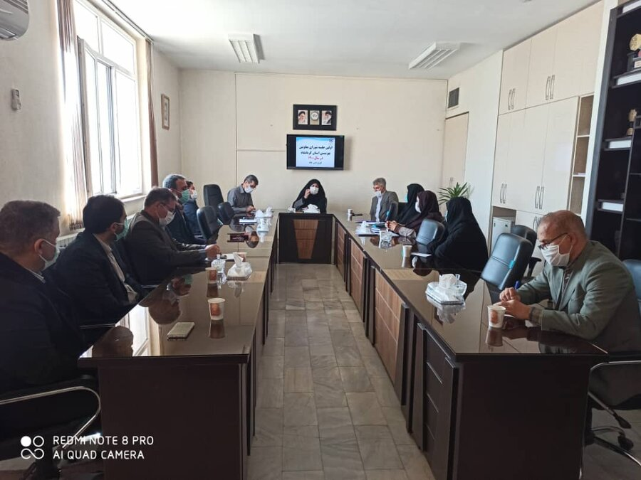 اولین جلسه شورای معاونین