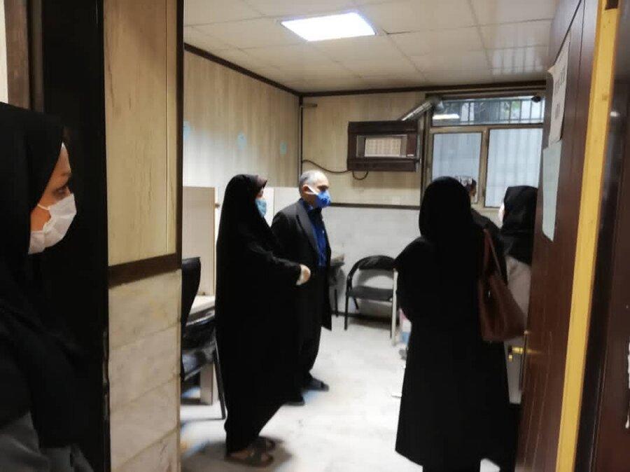 بازدید معاون توانبخشی بهزیستی استان تهران از مرکز اتیسم نویان