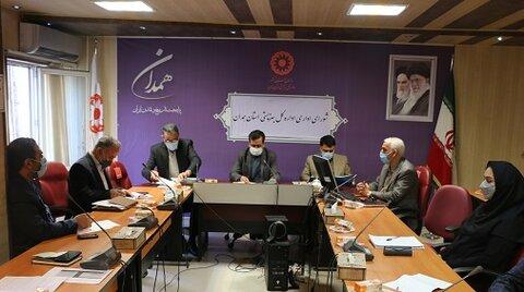 اولین جلسه شورای اداری در سال جدید