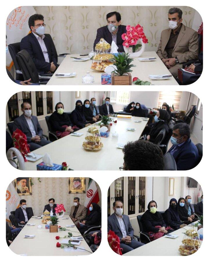 اولین جلسه شورای معاونین بهزیستی استان البرز و تشریح اقدامات صورت گرفته