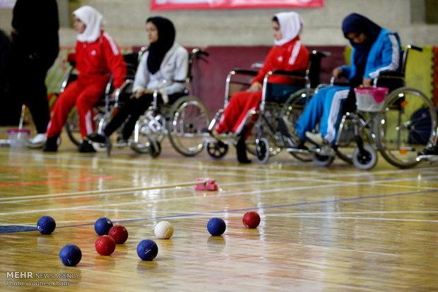 حضور دو تن از افراد تحت حمایت بهزیستی استان در اردوی تیم ملی بوچیا