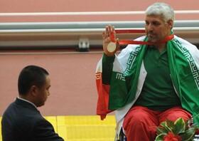 قهرمان پارادومیدانی؛ محمدرضا میرزایی جابری