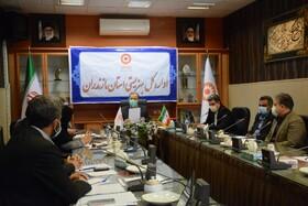 جلسه کارگروه عملیاتی مراکز مثبت زندگی بهزیستی مازندران برگزار شد
