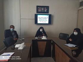 تجلیل از کارشناسان و رابطین حراست بهزیستی کرمانشاه