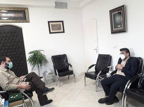 دیدار سرپرست بهزیستی خراسان رضوی با مدیرکل ستاد اجرایی فرمان امام استان
