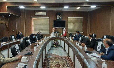 برگزاری اولین جلسه هماهنگی ستاد شفاف سازی بهزیستی آذربایجان غربی
