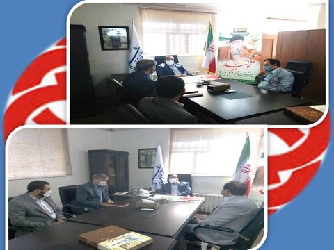 ساوجبلاغ | دیدار نوروزی رئیس بهزیستی ساوجبلاغ و نماینده مجلس شورای اسلامی