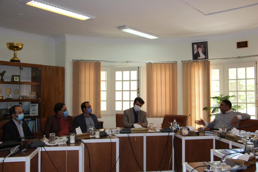 شمیرانات| سرپرست بهزیستی شهرستان به دیدار فرماندار رفت