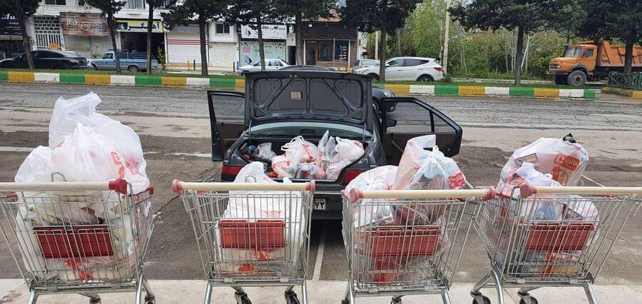 چالوس ׀ ۳۶۰ میلیون ریال کمک نقدی و توزیع ۵۵۰ بسته اقلام معیشتی به جامعه هدف بهزیستی در شهرستان چالوس