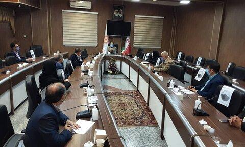 برگزاری اولین جلسه مدیریت بحران در راستای پیشگیری از شیوع ویروس کرونا در بهزیستی آذربایجان غربی