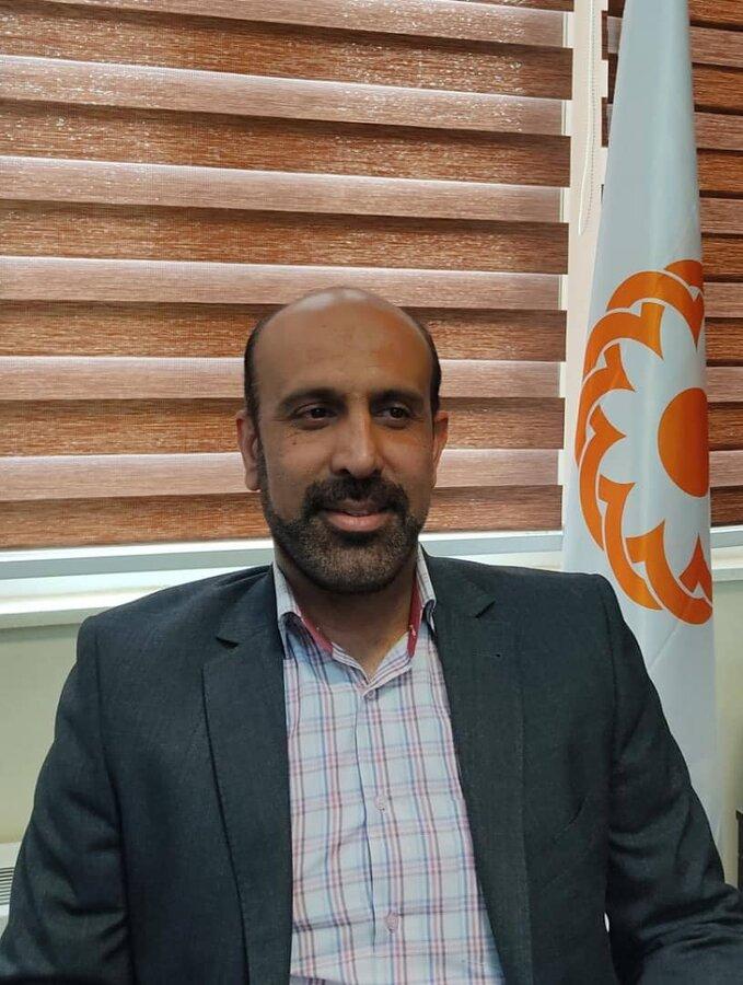 قانعی، سرپرست دبیرخانه توسعه موسسات و مراکز غیر دولتی سازمان بهزیستی کشور  شد