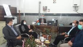دیدار مدیرکل بهزیستی استان با فرماندار شهرستان اصلاندوز