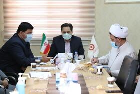 نشست مدیرکل بهزیستی گیلان با رئیس اداره حراست و همکاران حفاظت فیزیکی