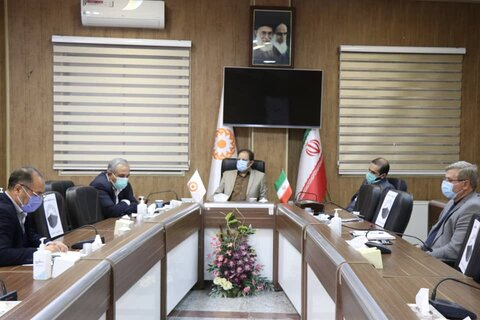 دیدار نمایندگان مردم مهاباد، سردشت و پیرانشهر در مجلس با مدیرکل بهزیستی آذربایجان غربی