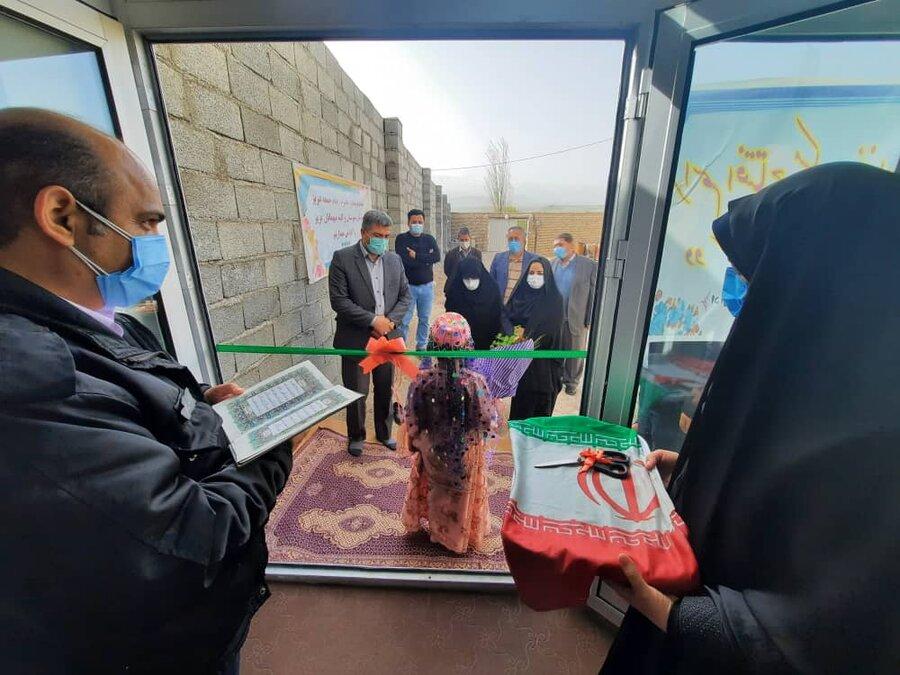 گزارش تصویری/ افتتاح مسکن مددجویی شهرستان اهر