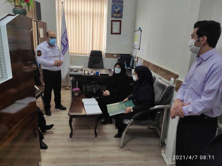 گزارش تصویری/ بازدید مدیرکل بهزیستی آذربایجان شرقی از اورژانس اجتماعی شهرستان اهر