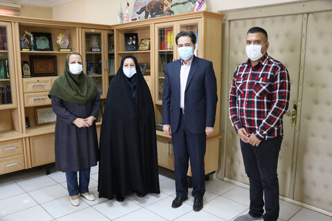 نشست مدیرکل بهزیستی استان گیلان با مسئولین مراکز مثبت زندگی