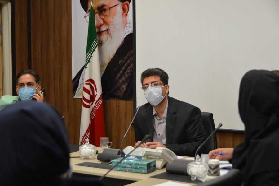 شمیرانات| برگزاری اولین جلسه شورای معاونین شهرستان در سال ١٤٠٠