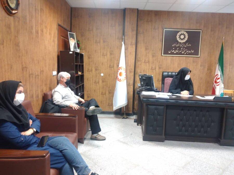 شهرقدس| اولین جلسه شورای اداری بهزیستی شهرستان برگزار شد
