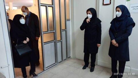 گزارش تصویری/ دیدار مدیرکل بهزیستی آذربایجان شرقی با کارکنان اداره بهزیستی جلفا