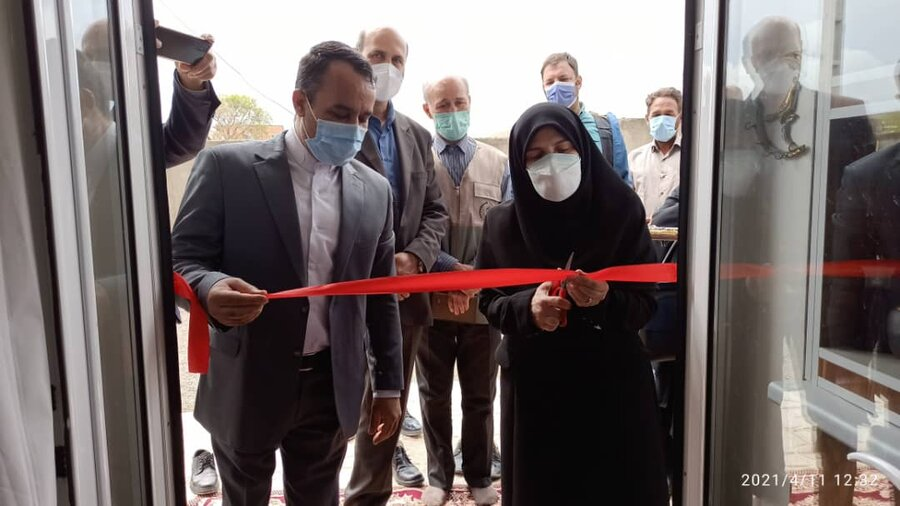 گزارش تصویری/ افتتاح مسکن مددجویی بهزیستی در شهرستان جلفا