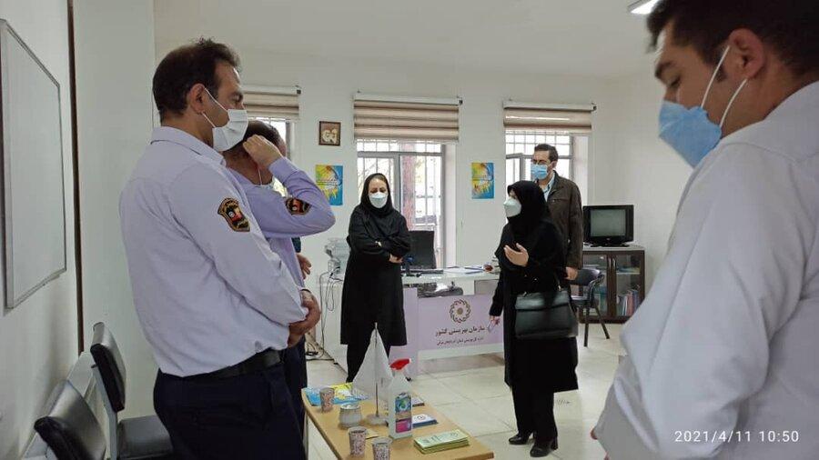 گزارش تصویری/ بازدید مدیرکل بهزیستی آذربایجان شرقی از اورژانس اجتماعی جلفا