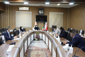 برگزاری جلسه کمیته راهبری احداث واحدهای مسکونی خانوارهای دارای حداقل دو معلول شهری و روستائی آذربایجان غربی