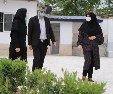 آمل ׀ بازدید سرزده رئیس بهزیستی آمل از مراکز تحت نظارت