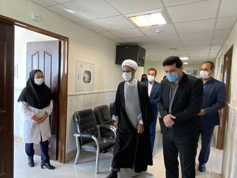 گزارش تصویری از بازدید نماینده ولی فقیه خراسان شمالی از شیرخوارگاه غنچه