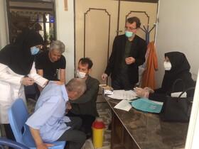 مرحله ی دوم واکسیناسیون در مراکز نگهداری سالمندان خراسان جنوبی انجام شد