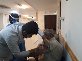آغاز فاز دوم واکسیناسیون سالمندان علیه کرونا ویروس در بهزیستی لرستان