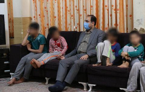 کلیپ | بازدید مدیرکل بهزیستی گلستان از مرکز شبه خانواده پسران