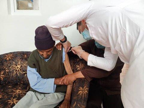 گزارش تصویری| واکسیناسیون مددجویان ساکن در مراکز سازمان بهزیستی برعلیه کرونا