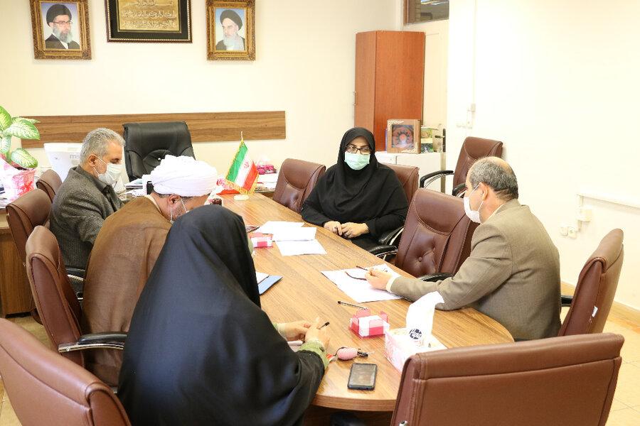 برگزاری نشست شورای فرهنگی بهزیستی گیلان پیرامون برنامه های ستاد اقامه نماز