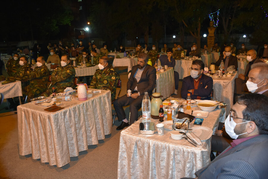 حضور سرپرست بهزیستی خراسان رضوی در مراسم اولین شب ماه مبارک رمضان در موسسه گلستان علی(ع)