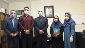 شاهرود | تقدیر از کارکنان واحد منابع انسانی بهزیستی شهرستان