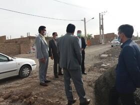 بازدید مدیرکل بهزیستی خراسان جنوبی از مسکن درحال احداث چهکند و شکراب شهرستان بیرجند