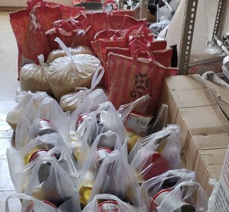 پیشوا| توزیع ۲۵۰ سبد کالا به مناسبت ماه رمضان