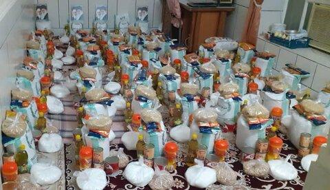 ۲۰۰ سبد کالای رمضان به مددجویان بهزیستی لامرد اهدا شد