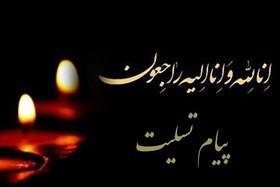 پیام تسلیت مدیر کل بهزیستی آذربایجان غربی در پی درگذشت همکار اداره بهزیستی شهرستان ارومیه