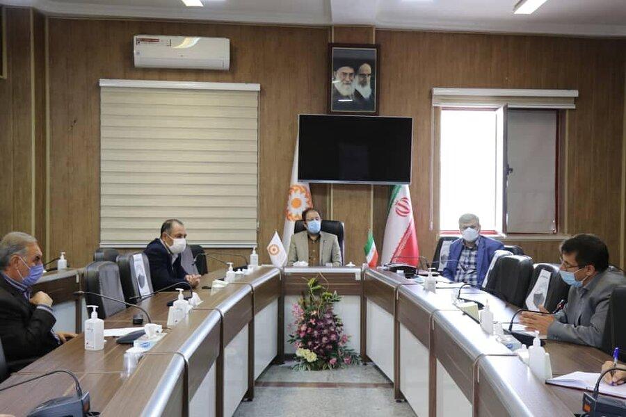 برگزاری دومین جلسه کمیته شفافیت اداره کل بهزیستی آذربایجان غربی