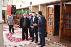 گزارش تصویری| بازدید مدیرکل بهزیستی استان البرز از ساختمان و ظرفیت های هیئت انصار الامام استان