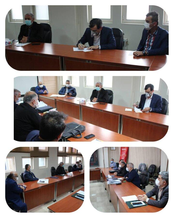 مدیرکل بهزیستی استان با اعضای هیئت امنای هیئت انصارالامام استان البرز دیدار کرد
