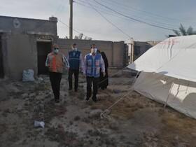 گزارش تصویری| بازدید میدانی دکتر کاظم زاده از مناطق زلزله زده شهرستان گناوه