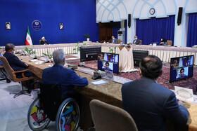 دکتر روحانی: تلاش این دولت تقویت سمن ها و خیرین بوده است
