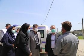 گزارش تصویری | بازدید مدیرکل بهزیستی مازندران از منطقه آسیب نوبنیاد ساری